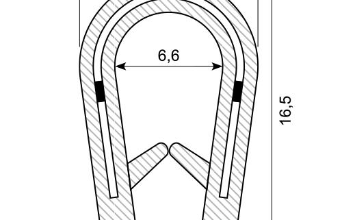 a-020 plastic edge trim
